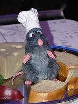 Chefkoch Remy im Restaurant des Stars