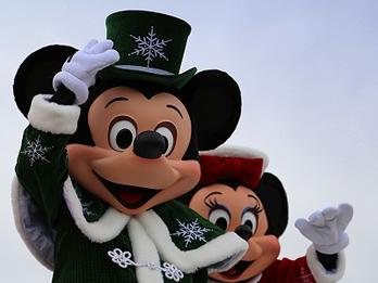 Christmas Cavalcade im Disneyland