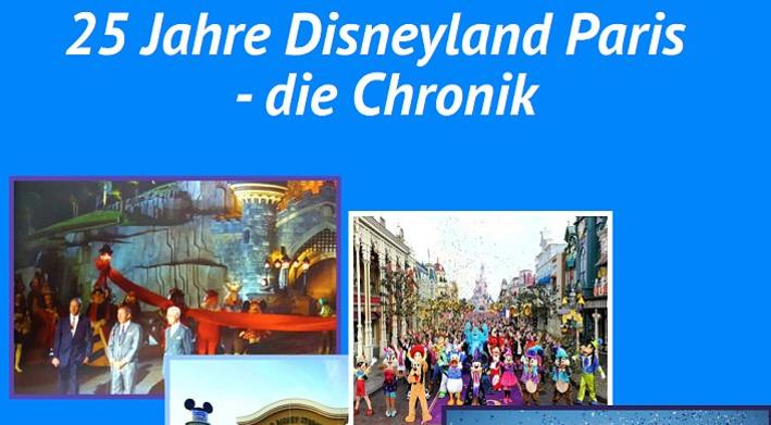 """Chronik zum Thema """"25 Jahre Disneyland Paris"""""""