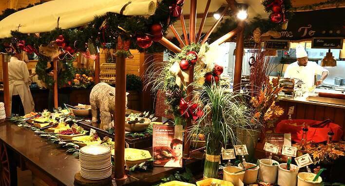 Crockett's Tavern auf der Davy Crockett Ranch im Disneyland Paris