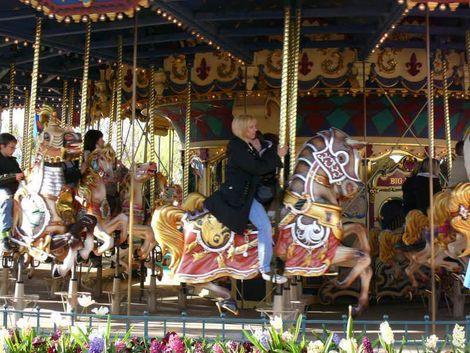 Das Carrousel de Lancelot im Fantasyland