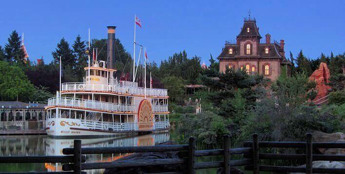 Das Frontierland im Disneyland Paris