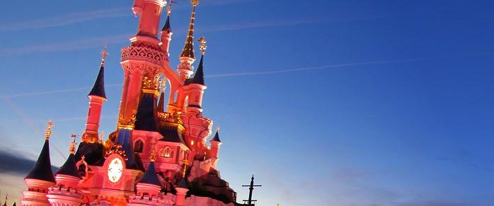 Das Schloss im Disneyland Park Paris