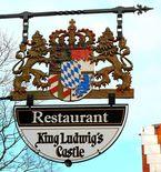 Der Gastraum im King Ludwig's Castle