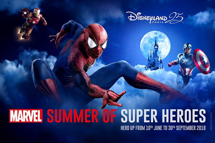 Der Marvel Summer of Super Heroes im Disneyland Paris