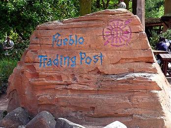 Der Shop Pueblo Traing Post im Disneyland Paris