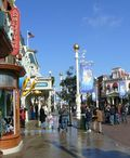 Die Main Street USA im Disneyland Paris