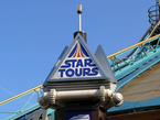Die Weltraumattraktion Star Tours im Disneyland Paris