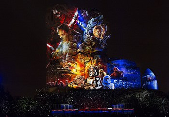Disney Abendshow Star Wars A Galctic Celebration