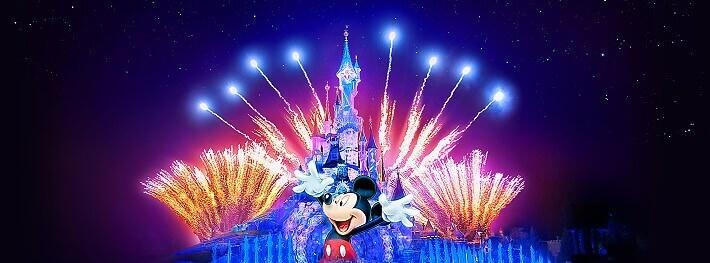 Disney Illuminations Show im Disneyland Paris