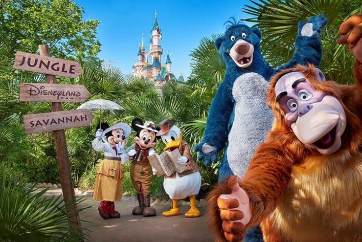 Dschungel Festival im Disneyland Paris