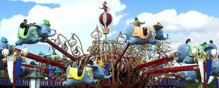 Dumbo Kinderkarussell