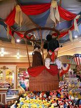 Ein Shop im Disneyland Park