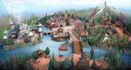 Entwurf für Skandinavien in Tokyo Disney Sea