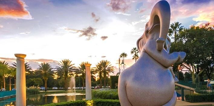 Fantasia Gardens Minigolf in Walt Disney World