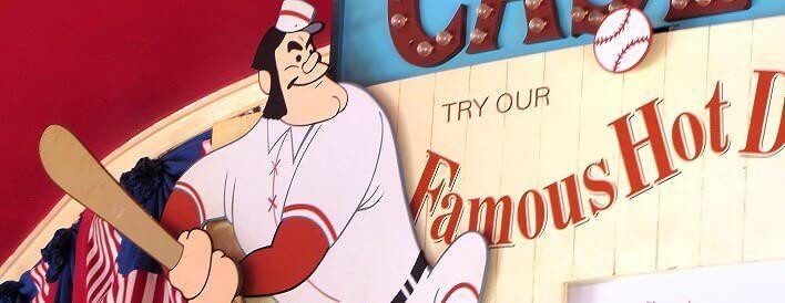 Fast Food im Disneyland