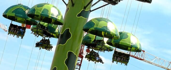 Free Fall Toy Soldiers Parachute Drop