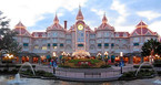 Front des Disneyland Hotel in Paris