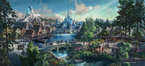 Frozen Land in Hong Kong Disneyland