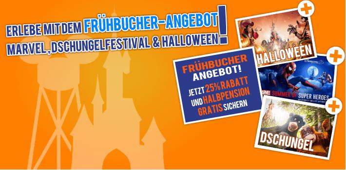 Frühbucher 2019 25% + HP