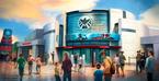 Gebäude der Antman-Attraktion im Hong Kong Disneyland