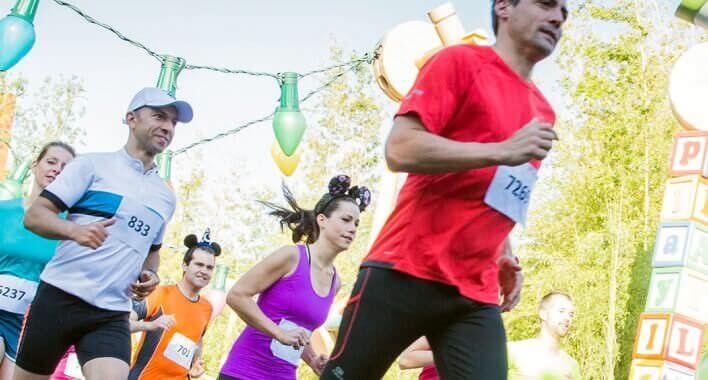 Halbmarathon durch den Disneyland Park und die Walt Disney Studios