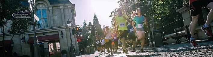 Hauptveranstaltung bei runDisney: der Halbmarathon durchs Disneyland