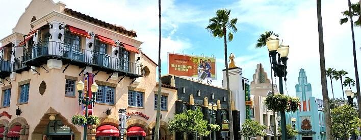 Hollywood Boulevard in den Hollywood Studios in Walt Disney World