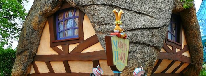 Imbissbude Marche Hare Refreshments