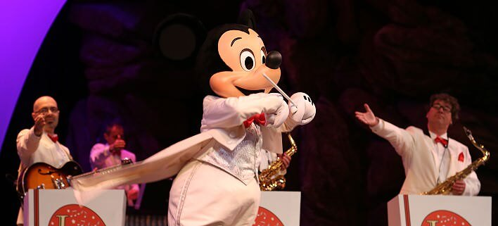 Jingle Bell Boys mit Mickey Mouse