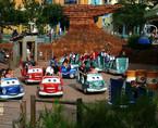 Karussell im Disneyland