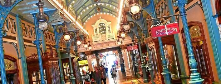 Liberty Arcade an der Main Street