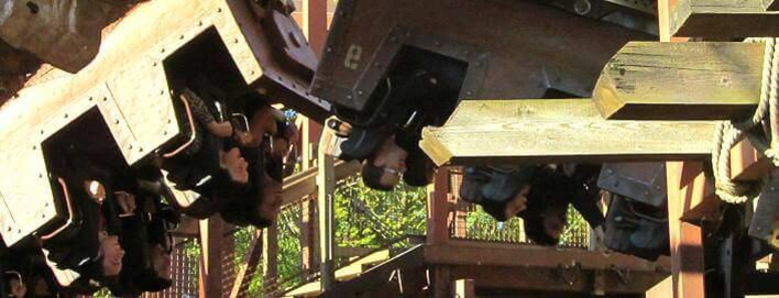 Looping bei Indiana Jones and the Temple of Peril