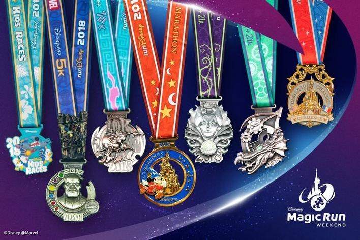 Magic Run Medaillen 2018