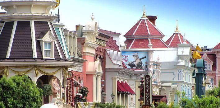 Main Street U.S.A. im Disneyland Park