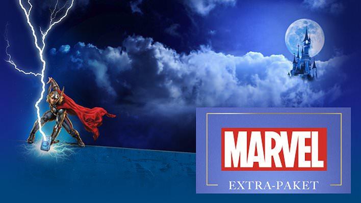 Marvel-Urlaubspaket fürs Disneyland Paris
