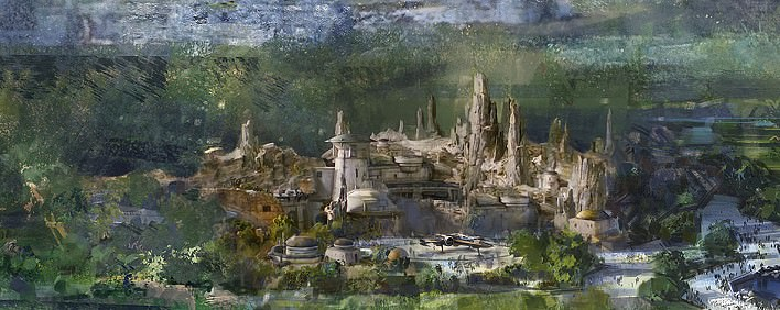 Neues Star Wars Land für das Disneyland Paris