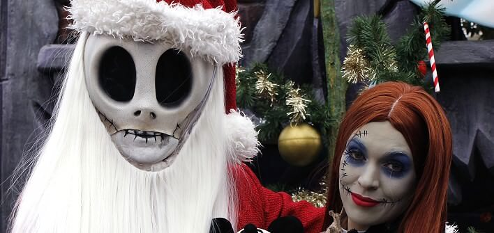 Nightmare before Christmas mit Jack & Sally