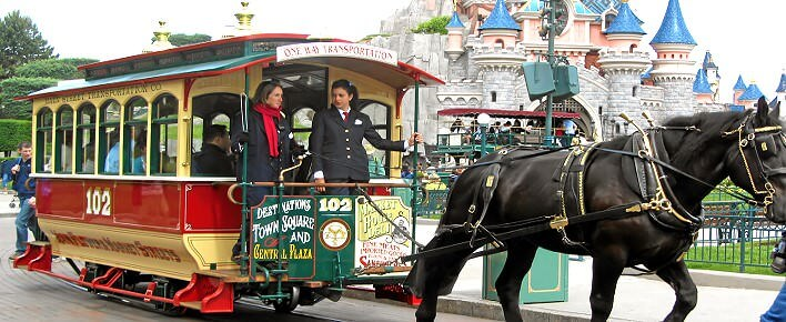 Oldtimer Straßenbahn Horse Drawn Streetcars