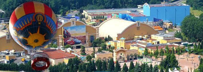 Panoramagique - hoch über dem Disneyland