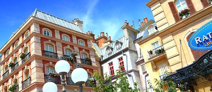 Place de Remy in den Walt Disney Studios Paris