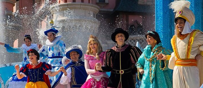 Prinzessinen Show im Disneyland Paris