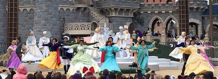 Royal Christmas Wishes - eine Show weihnachtliche Show mit den Disney Prinzen und Prinzessinnen