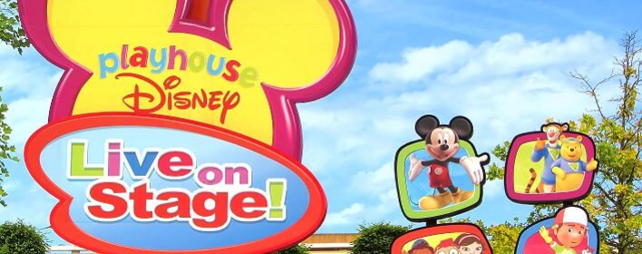 Schild Playhouse Disney