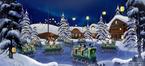 Schlittenfahrt im Frozen Land
