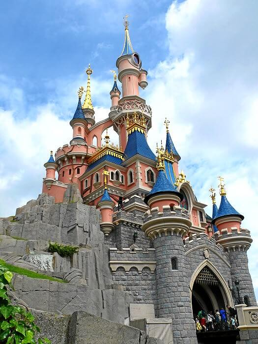Sleeping Beauty Castle - Das Märchenschloss im Disneyland ...