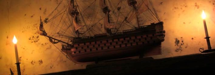 Segelschiff im Blue Lagoon