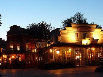 Shopping im Disneyland