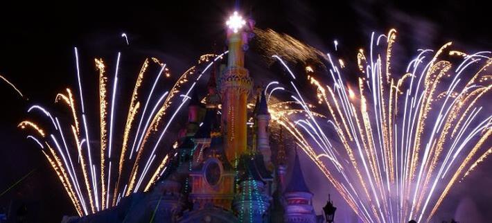Silvester feiern im Disneyland Paris