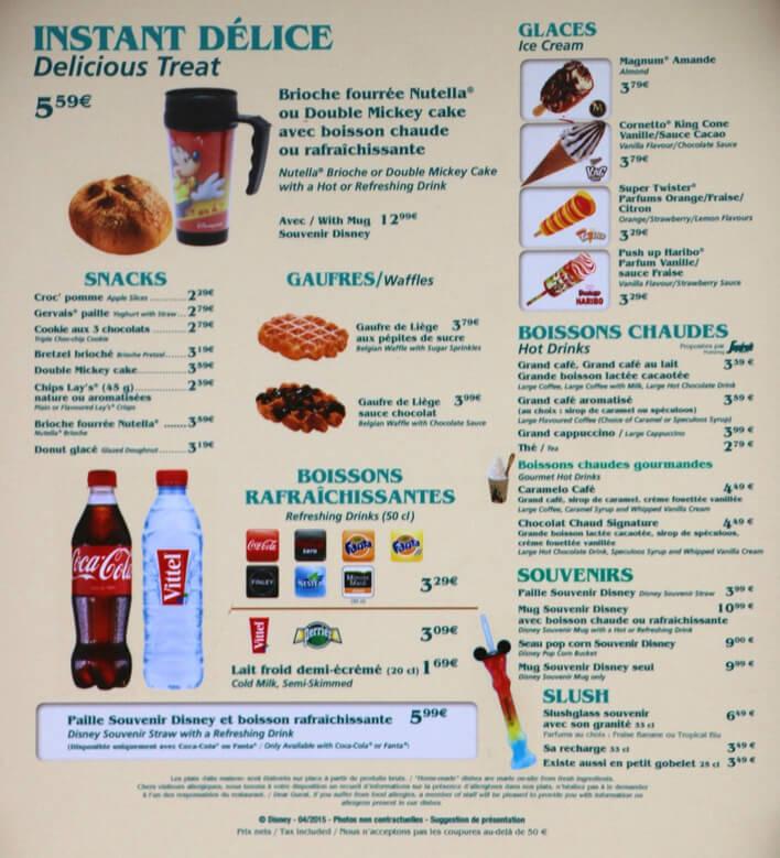 Speisekarte, Getränke und Preise von The Old Mill